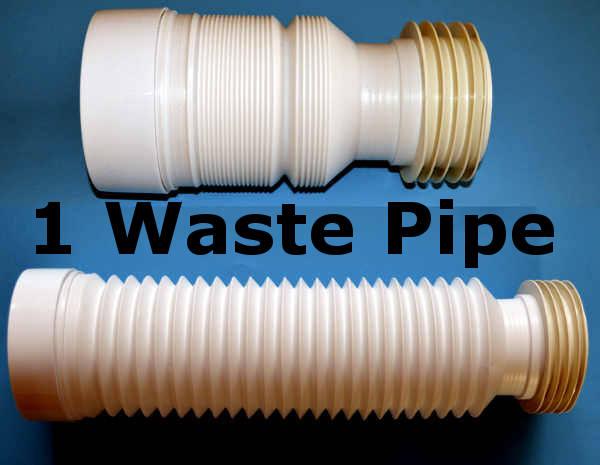 toilet waste soil pipe 220 520 mm flexible pan connector. Black Bedroom Furniture Sets. Home Design Ideas