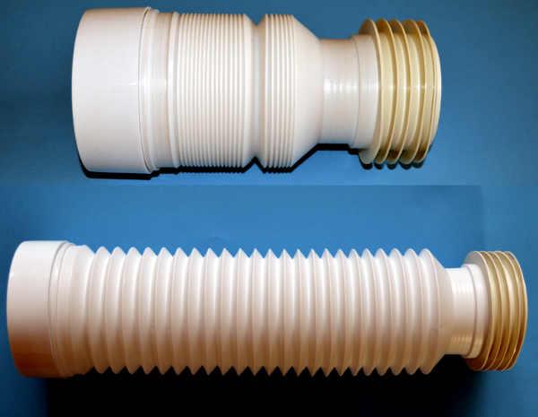 toilet waste soil pipe 220 540 mm flexible pan connector. Black Bedroom Furniture Sets. Home Design Ideas