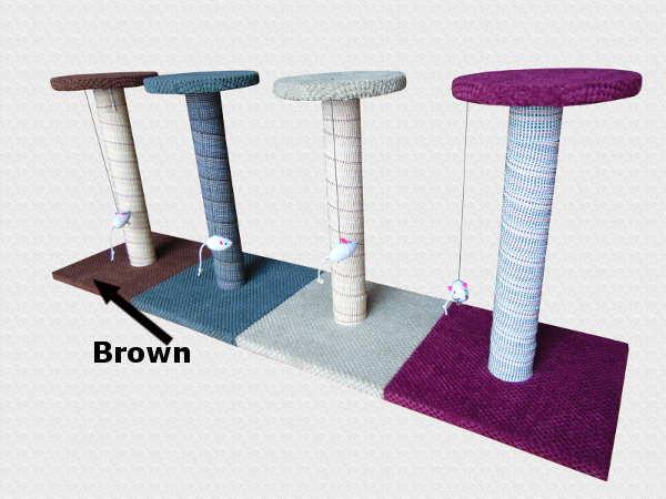 cat kitten scratching post tree scratcher no sisal rope activity climbing toy ebay. Black Bedroom Furniture Sets. Home Design Ideas